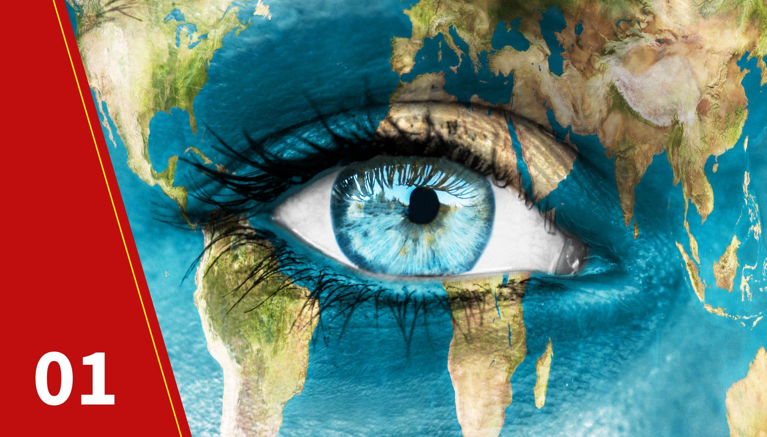 Belong to a global community